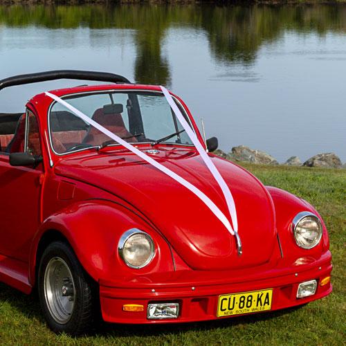 wedding cars for hire byron bay vw beetle